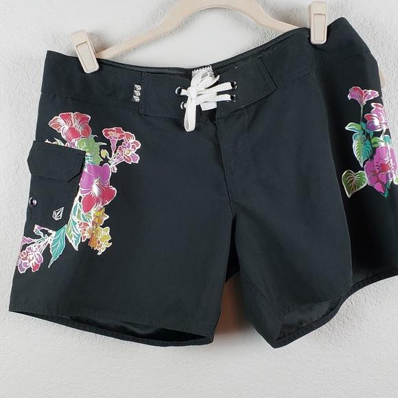 Miss Mod Volcom Other - Volcom  |  Miss Mod Black Swim Board Shorts